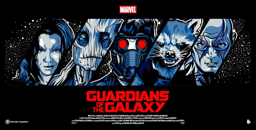 Guardians of the Galaxy honest Reviews Behance-2-poster-posse-gives-us-phase-two-of-guardians-of-the-galaxy-poster-blitz